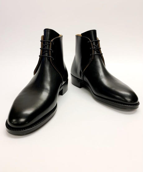 Schnieder Riding Boots × UW / George Boots / Black