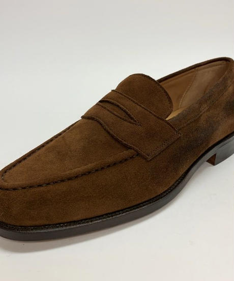 19.23 Rejected Tricker's / Brown Suede / Loafers / Leather  Sole / Size 8H