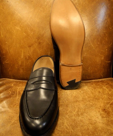 18.38 Rejected Tricker's / Dark Brown / Loafers / Leather Sole / Size 6 half
