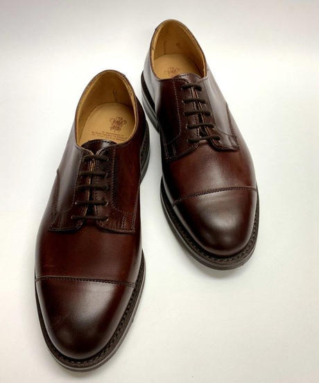 19.12 Rejected Tricker's /  Burgundy / Cap Toe Derby / Dainite W Sole / Size 6H