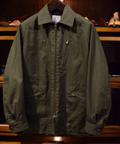 Soundman / Cycling Jacket / Olive