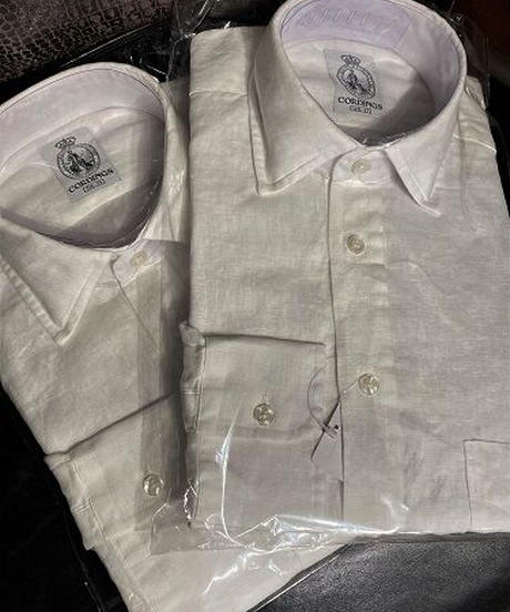 Cordings / Vintage Linen Shirt