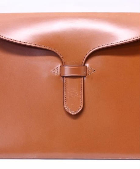 Rutherfords / Tongue Folio Case / Ginger Nut
