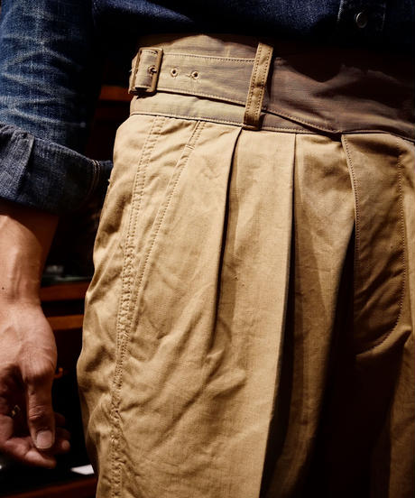 Soundman / Gurkha Trousers / KhakiBeige