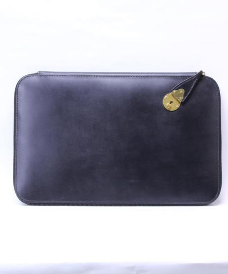Rutherfords / Zip Folio Case with 808 Lock / Black