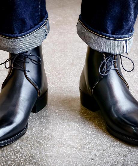 Schnieder Riding Boots × UW / George Boots / Black