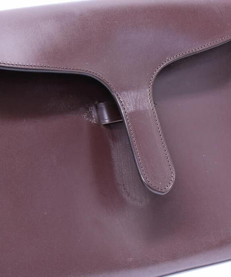 Rutherfords / Tongue Folio Case / Chocolate