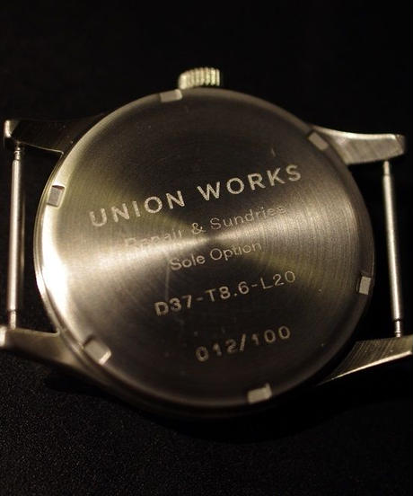 UNION WORKS Original / Wrist Watch / Black