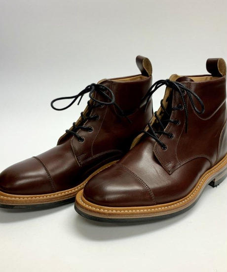 19.57 Rejected Tricker's / Brown / Country Cap Boots / Dainite W Sole / Size 6H