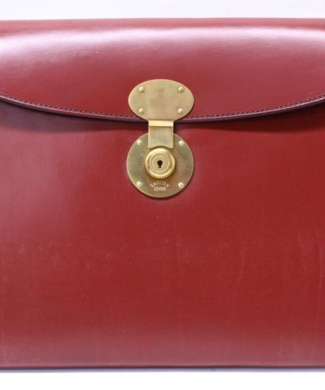 Rutherfords / Folio Case with 806 Lock / Chestnut