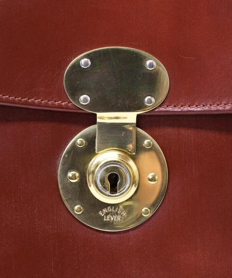 Rutherfords / Folio Case with 806 Lock / Conker