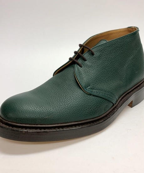 19.39 Rejected Tricker's / Green Grain / Chukka Boots / Leather  W Sole / Size 8