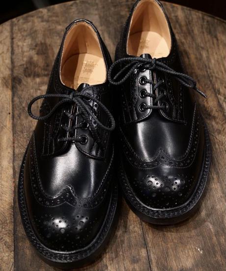 Tricker's × UW / 4497K Country Brogue Shoes / Black