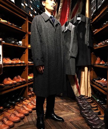 batak  /  Classic  Raglan  Coat / Dark Grey / Size38