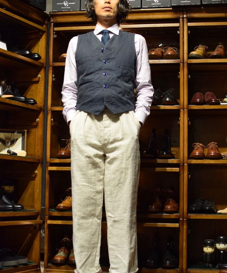 Yarmo / Linen Officer Trousers