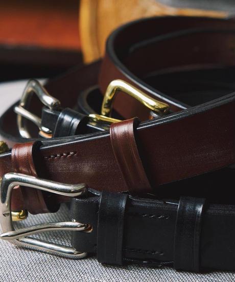 Martin Faizey × UW / Saddle Leather Belt / 1.0 inch