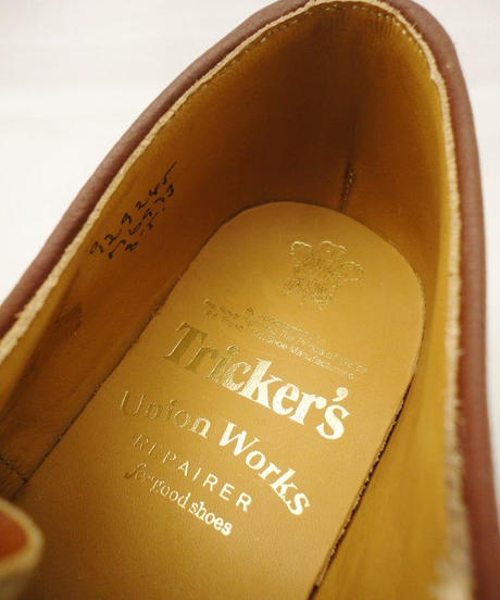 Tricker's × UW / Country Brogue Shoes / Combi