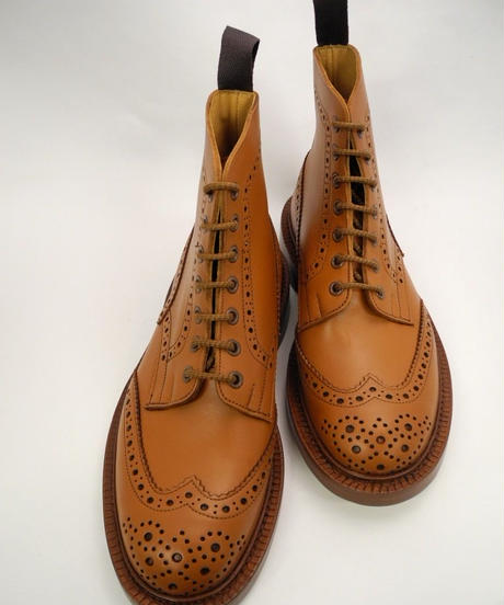 Tricker's × UW / Country Brogue Boots / C-Shade