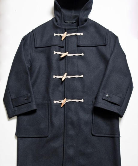 UNION WORKS × Soundman  /  Royal Navy Type Duffle Coat / Navy
