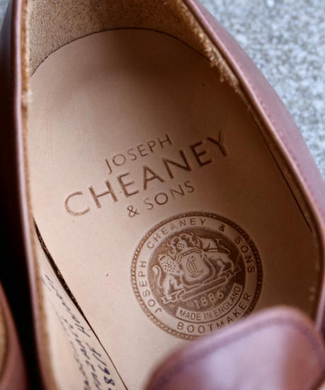 Joseph Cheaney  / PENZANCE / Gurkha Sandals / Conker