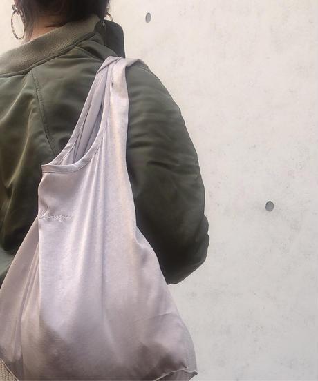 <送料無料・数量限定>CLASSICAL SATIN SHOPPING BAG (巾着付き)