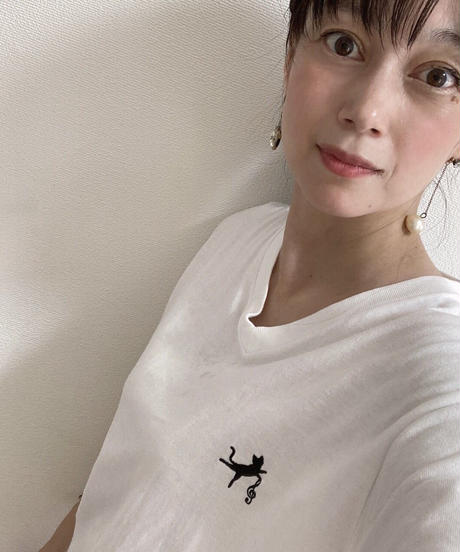 ♡Hina×Unoesque♡ BALLET CAT LOGO T-SHIRTS(購入特典付き)