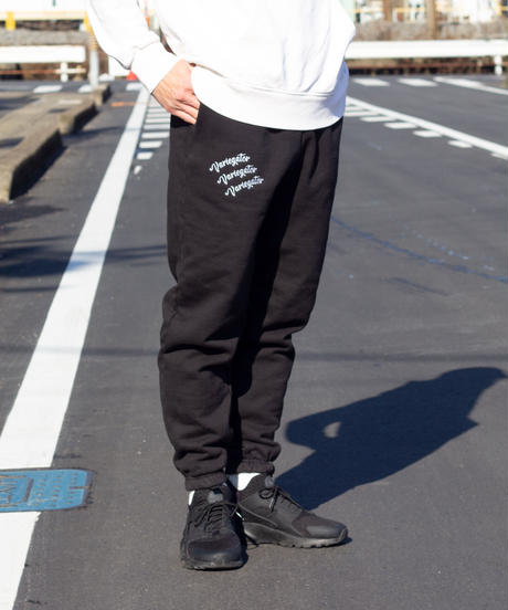 EMBROIDERY SWEATPANTS【UNISEX】