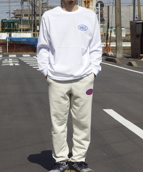 OVAL LOGO L/S TEE【UNISEX】