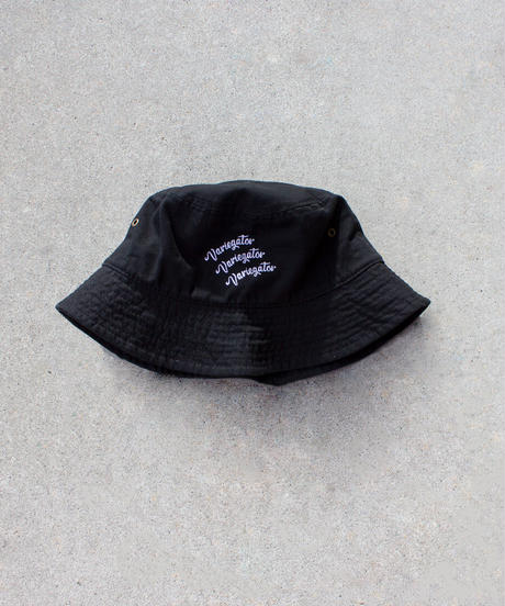 EMBROIDERY BUCKET HAT【UNISEX】