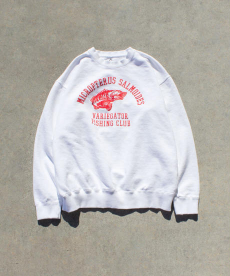 BASS DAMEGED SWEAT SHIRTS【UNISEX】