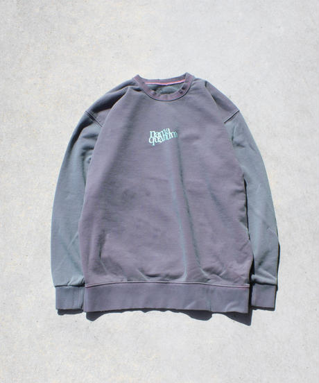 VINTAGE DYE DAMEGED SWEAT SHIRT