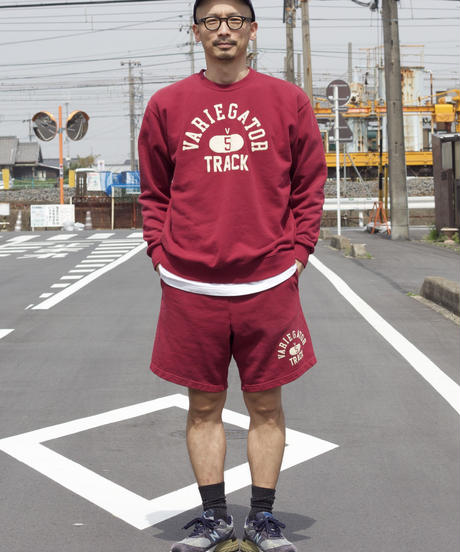 TRACK LOGO SWEAT PANTS【UNISEX】