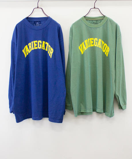 カレッジロゴ ロングスリーブTシャツ【UNISEX】