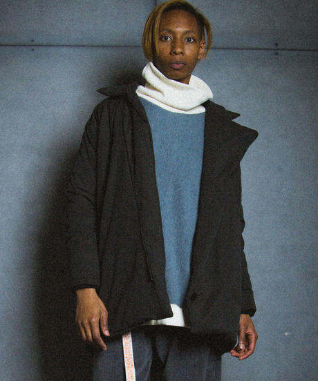 ANTI BELL BOY COAT / black