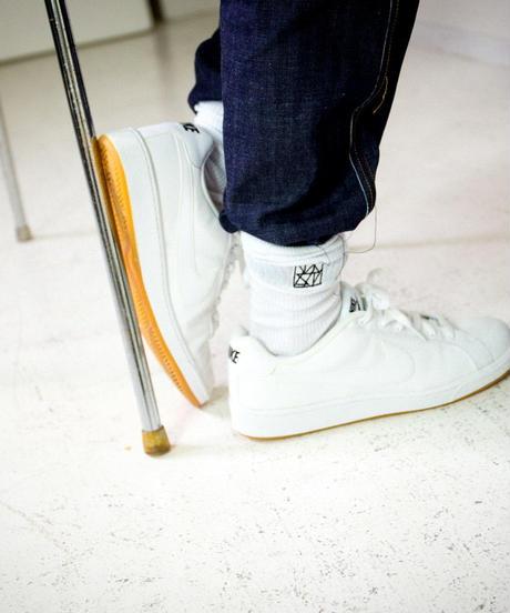 LOGO SOX / white