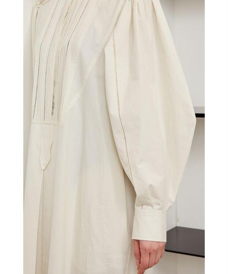 PINTUCK & EMBROIDERY DRESS