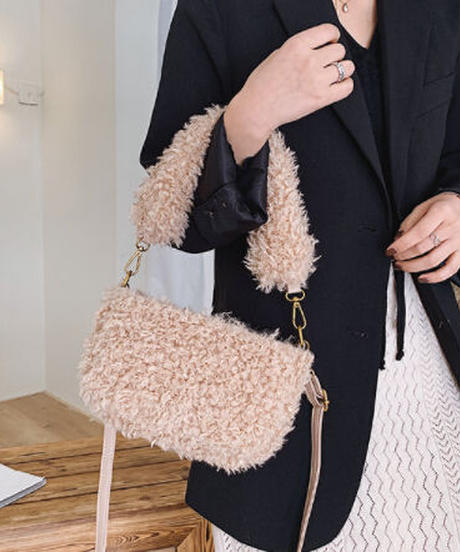 Fur Pouch Bag/ファーポーチバッグ