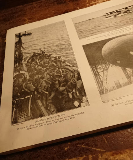 【 1910s~  U.S.NAVY 】History photo book.