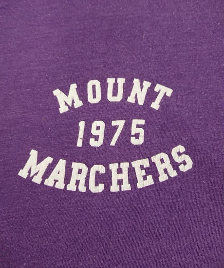 【~1970s  SPRUCE 】Purple  cotton  T-shirt