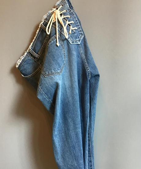 kittle lace-up denim