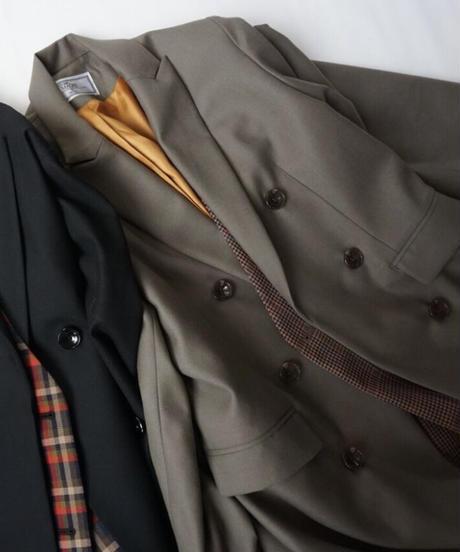 check docking tailored coat