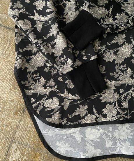 botanical  rib neck pullover