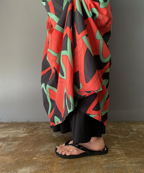 print skirt reversible