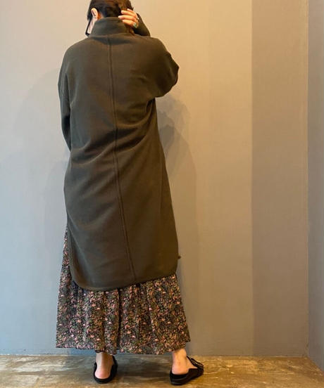 back stitch p/o(khaki)