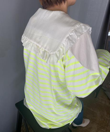border long sleeve T-shirt