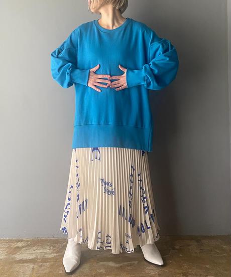 MADICINE print pleats skirt