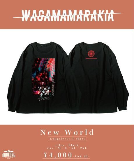 [ 我儘ラキア ] New World Longsleeve T-shirt  [4月下旬お届け]