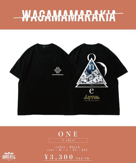 [ 我儘ラキア ]  One T-shirt [4月末頃お届け]