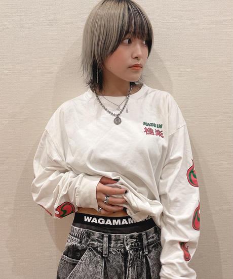 [ 我儘ラキア ] Marble Boxer shorts [Black]