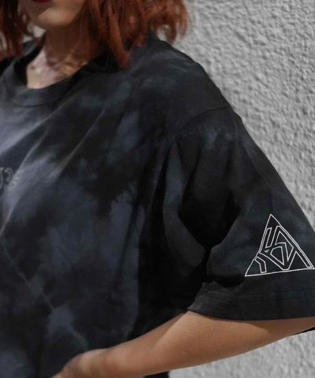 [我儘ラキア][川﨑怜奈] X I I X V 12/15 My birthday Logo Tie-dye T-shirts [12月上旬頃お届け予定]